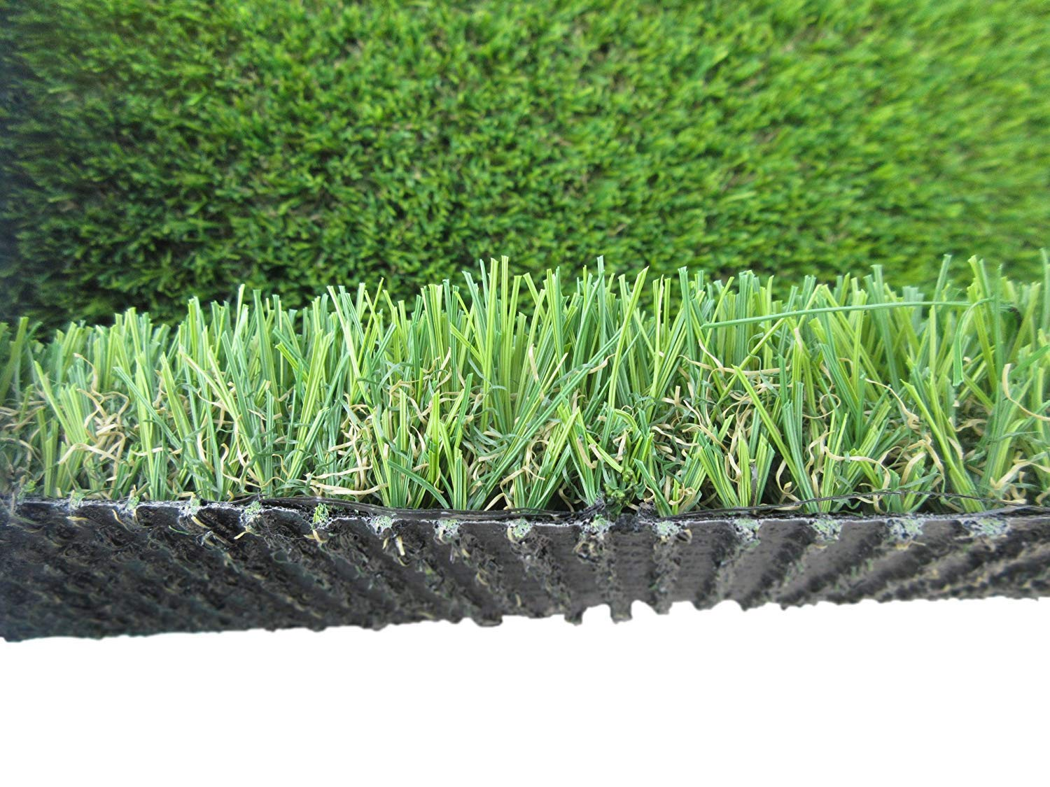 PZG Commerical Artificial Grass Patch w/ Drainage Holes & Rubber Backing   Heavy & Soft Turf   Lead-Free Fake Grass for Dogs or Outdoor Decor   Total Weight - 83 oz & Face Weight 55 oz   Size: 6' x 4'