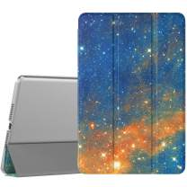 TiMOVO Cover Compatible for New iPad Mini 5th Generation 2019 Case, Slim Translucent Frosted Back Protector Smart Case with Auto Wake/Sleep, Smart Cover Fit iPad Mini 5 2019 - Sky Star