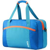 Gonex Swim Bag, Wet Dry Separated Duffle Bag Carry on Duffel Bags for Swimming Equipment Swimsuit for Gym Pool Beach