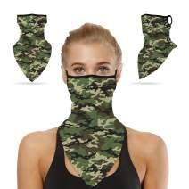 Sunew Unisex Winter Face Scarf Ear Loops Bandana Balaclava Neck Gaiters Mask
