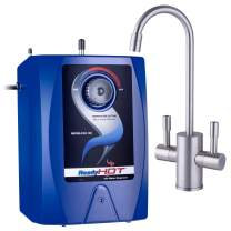 Ready Hot RH-100-F560-BN Hot Water Dispenser System, 2.5 Quarts, Includes Brushed Nickel Dual Lever Faucet