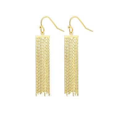 wedding jewellery birthday Pink powder long tassel earrings handmade fringe earrings