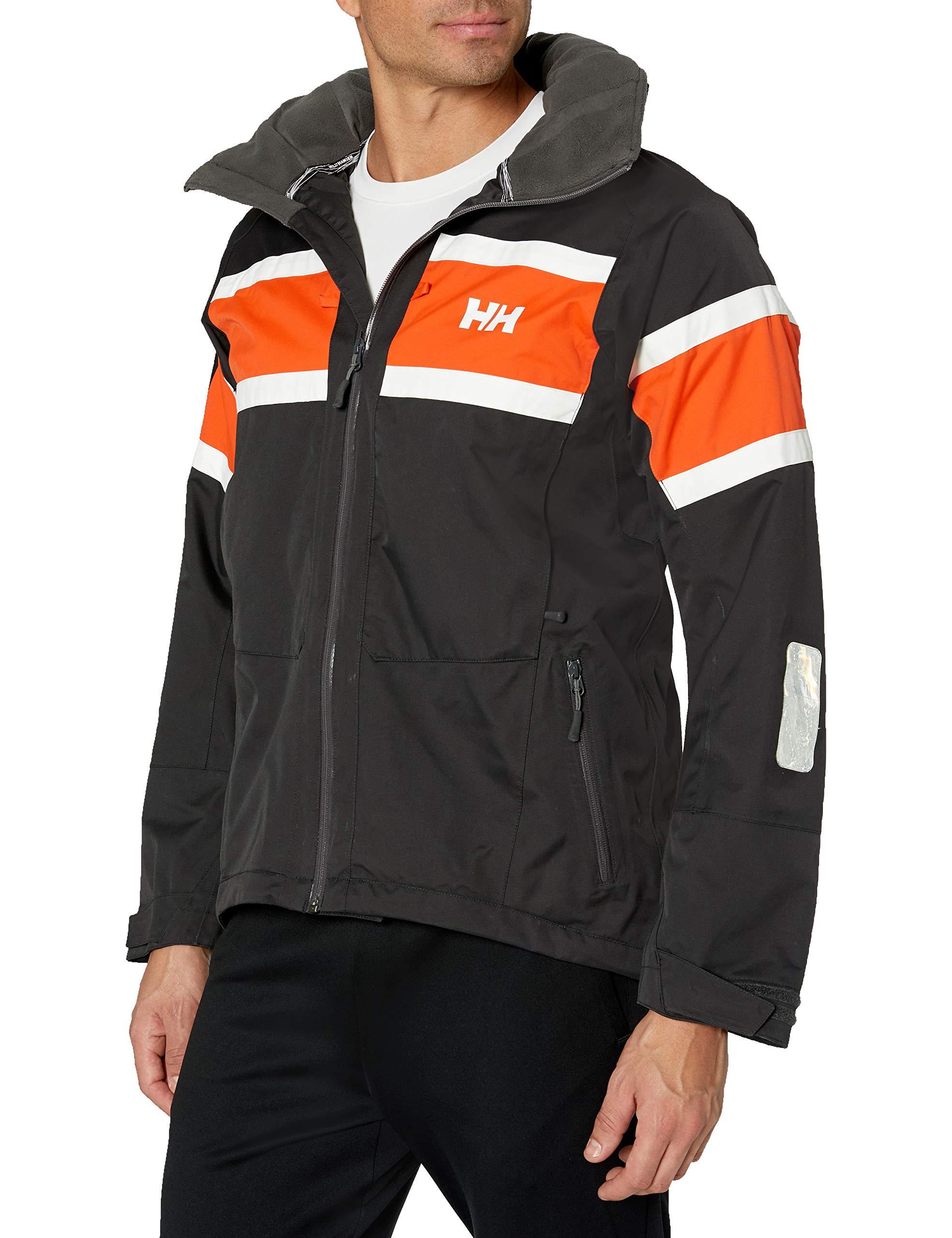 Helly-Hansen Men's Salt Waterproof Windproof Breathable Sailing Rain Jacket