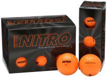 Nitro NMD12OBXC  Maximum Distance Golf Ball (12-Pack), Orange