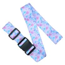 Adjustable Luggage Straps/Belt for suitcases - Travel Accessories - Luggage Accessories - Mermaid Pink Purple Blue