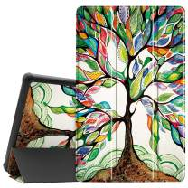 """Famavala Shell Case Cover Compatible with 10.1"""" All-New Amazon Fire HD 10 Tablet [7th / 9th Generation, 2017/2019 Release] (BeLucky)"""