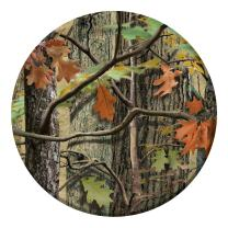 Creative Converting Paper Dessert Plates, Hunting Camo (Value Pack: 24 Count)