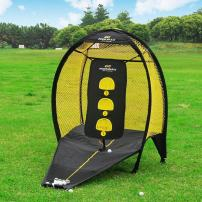 PodiuMax Portable Pop Up Golf Chipping Net, Indoor/Outdoor Golfing Target Net for Accuracy and Swing Practice