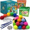Air Dry Clay for Kids Modeling Kit | Bake Shoppe & Cute Critters Themed Activity Books | 36 Colors of molding Clay Magic
