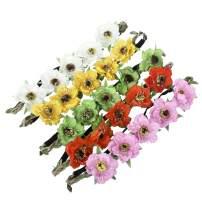 AWAYTR Flower Crown Bohemia Headband Accessory 5PC Sunflower Wreath Women GILR Headwear Crafting Tea Parties Decoration (5color-1) …