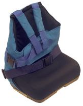 Wenzelite Positioning Seat, Blue, Small
