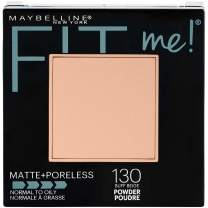 Maybelline New York Fit Me Matte + Poreless Powder Makeup, Buff Beige, 0.29 Ounce, 1 Count