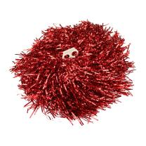 H:oter 1 Pair Holes Handle Cheerleading Pom Poms Party Costume Accessory Sports Set, 0.04 LB/Pieces