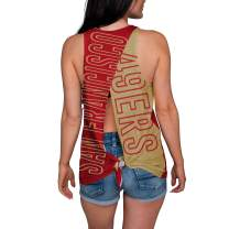 FOCO Women's Tie Breaker Tank Top Shirt