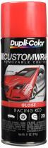 Dupli-Color ECWRC8430 Custom Wrap Gloss Racing Red