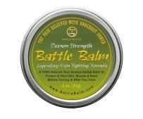 Battle Balm Demon Strength Pain Relief Cream (1.9-Ounce) - All-Natural and Organic Topical Analgesic for Arthritis, Muscle Soreness, Sprains, Strains, Bruises and More. Professionally Approved.