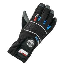Ergodyne ProFlex 819OD Extreme Thermal Waterproof Insulated Work Gloves with OutDry, Touchscreen Capable, Black, Medium