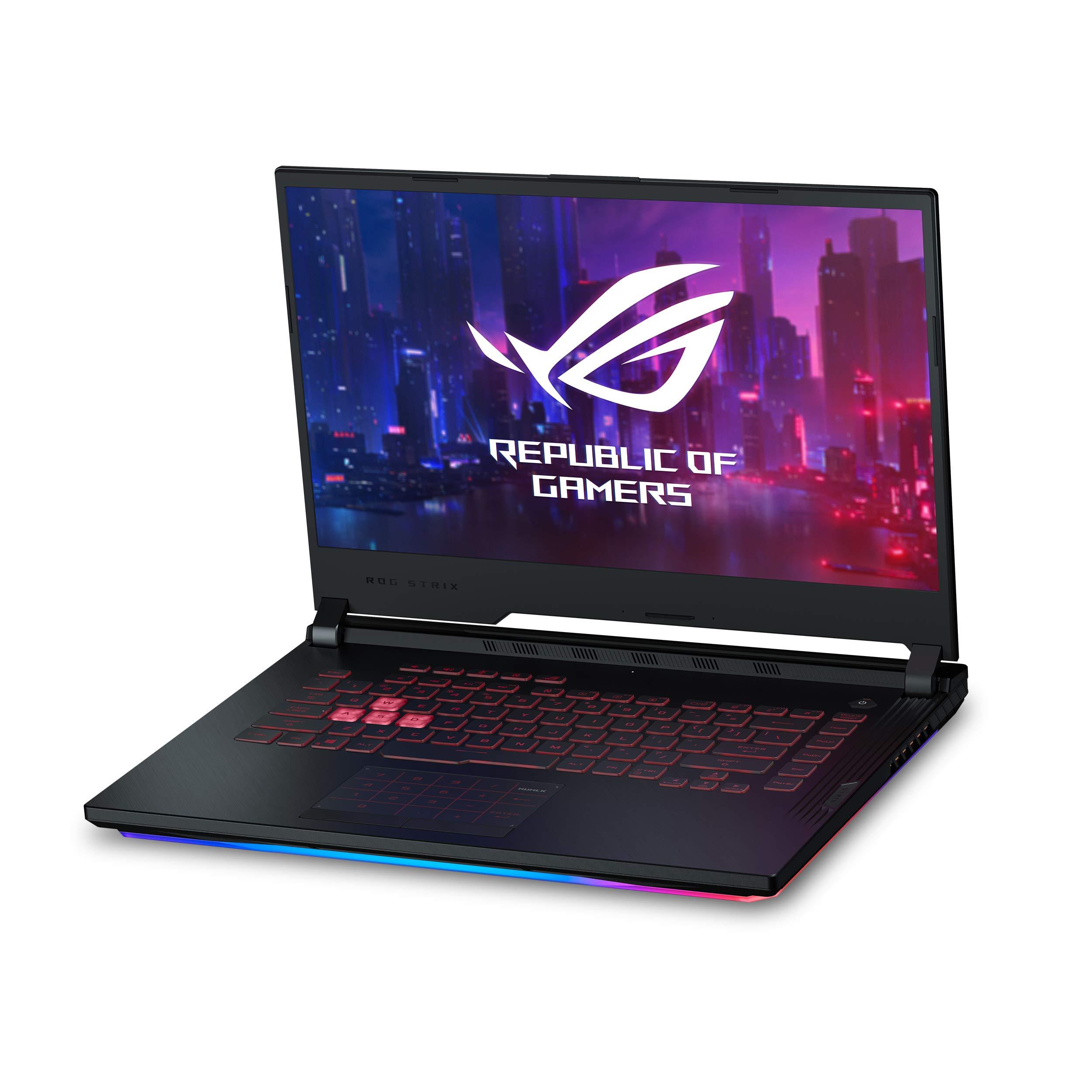 "Asus ROG Strix G Gaming Laptop, 15.6"" 120Hz IPS Type Full HD, NVIDIA GeForce RTX 2060, Intel Core i7-9750H, 16GB DDR4, 512GB PCIe Nvme SSD, RGB KB, Windows 10, GL531GV-PB74"