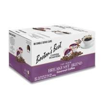 Boston's Best Coffee Roasters - Breakfast Blend - Light Roast 100% Arabica Coffee - 80 Single Serve Keurig-Compatible K-Cup Pods