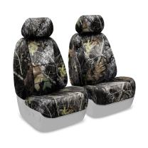 Coverking Front 50/50 Bucket Custom Fit Seat Cover for Select Toyota Tacoma Models - Neosupreme (Mossy Oak Break Up Camo Solid)