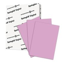 Springhill Purple Colored Paper, 24lb Copy Paper, 89gsm, 11 x 17 printer paper, 1 Ream / 500 Sheets - Orchid Pastel Paper with Smooth Finish (024061R)