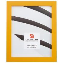 Craig Frames Confetti, Modern Yellow Picture Frame, 8 x 10 Inch