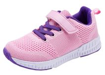 KARIDO Kids Lightweight Breathable Running Shoes Boys Gilrs Fashion Sneakers Casual Sports Walking Shoes