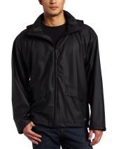 Helly Hansen Men's Voss Windproof Waterproof Rain Coat Jacket with Stowable Hood