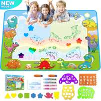 Koviti Doodle Mat Toys for 3 Year Old Girls - 40'' x 28'' Water Doodle Mat Toys for 2 Year Old Girls, Large Mat Toys for 2 3 4 5 6 7+ Year Old Boys Girls Toddlers Kids