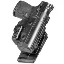 Alien Gear ShapeShift Molle Holster - Custom Fit to Your Gun (Select Pistol Size) - Right or Left Hand - Adjustable Retention - Made in The USA