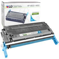 LD Remanufactured Toner Cartridge Replacement for HP 641A C9721A (Cyan)