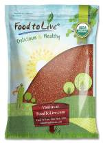 Organic Red Quinoa by Food to Live (Kosher, Bulk) — 10 Pounds