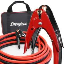 Energizer 20 Feet Jumper Cables, 2 Gauge, 800A, Heavy Duty Booster Jump Start Cable - 20 Ft Allows You to Boost a Dead Battery from Behind a Vehicle