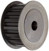 """Martin 15XL037 DF-1 Style, 1/5"""" Pitch, Extra Light, 1/4 And 3/8"""" Wide Belts, 0.25"""" Bore Timing Pulley"""