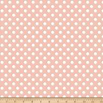 Riley Blake Designs Bliss Dots Blush Fabric Fabric by the Yard