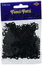 Fanci-Fetti 30 Silhouettes (black) Party Accessory  (1 count) (.5 Oz/Pkg)