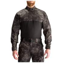 5.11 Men's Stryke TDU Rapid Long Sleeve Shirt, Mechanical & Snag-Resistant, Camo GEO7 Colors and Tall Sizes, Style 72071