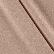 TELIO Taupe Misora Crepe de Chine Fabric by The Yard
