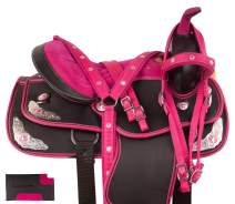 Acerugs 14 15 16 17 18 Western Pleasure Show Horse Saddle Light Weight Cordura Synthetic TACK