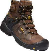"""KEEN Utility - Men's Dover 6"""" WP Carbon Fiber Toe Waterproof Work Boots for Construction, Landscaping, Maintenance, Transportation and Utilities"""