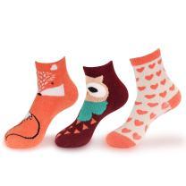 Women's Christmas Xmas Animal Super Soft Cozy Warm Fuzzy Comfy Home Indoor Outdoor Socks