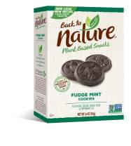 Back to Nature Cookies, Non-GMO Fudge Mint, 6.4 Ounce (Pack of 6) (Packaging May Vary)