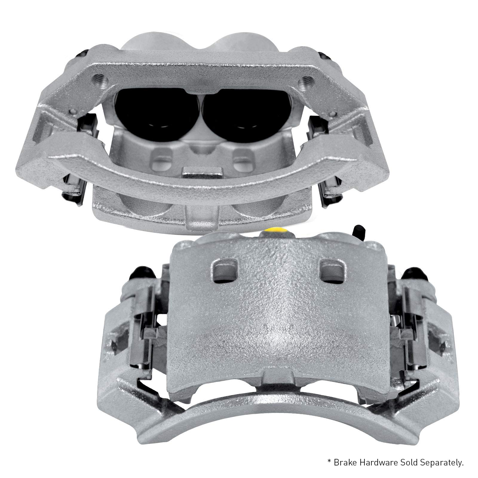 For 1990-1990 Jeep Cherokee 2 Front Zinc Disc Brake Calipers
