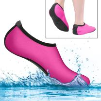 MiaoMa Water Shoes Barefoot Quick-Dry Aqua Socks for Yoga Beach Swim Surf Exercise Non-Slip for Womens,Mens and Kids