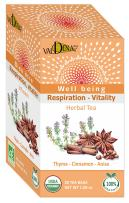 Valdena Bio Thyme, Cinnamon and Anise Tea Blend, Organic Herbal Teas for Stomach and Digestion Relief, 100% Natural USDA Certified (Pack of 3)