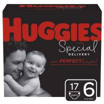 Huggies Special Delivery Hypoallergenic Diapers, Size 6 (35+ lb.), 17 Ct, Jumbo Pack