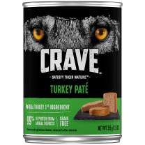 CRAVE High Protein Grain Free Paté Adult Wet Dog Food, Pack of 12