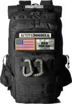 ActiveDoodie Dad Diaper Bag Backpack, Tactical Adventure Gear for Dads, Changing Pad, Stroller Straps, Insulated Bottle Holder, Diaper Bag for Dads, Mens Diaper Bag (Dad Squad, Large)