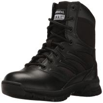 """Original S.W.A.T. Men's Force 8"""" Side Zip Military and Tactical Boot"""
