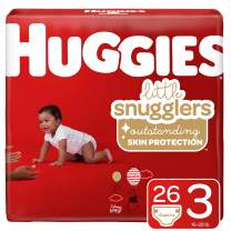 Huggies Little Snugglers, Baby Diapers, Size 3, 26 Count